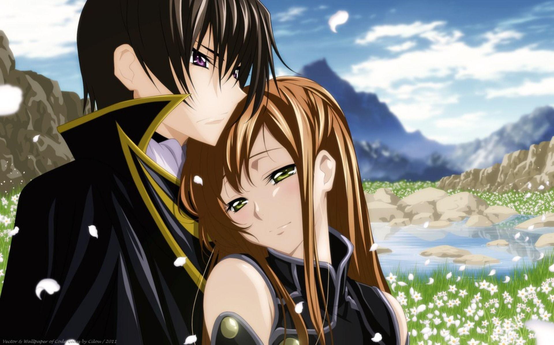 76 ] Romantic Anime Wallpapers On WallpaperSafari