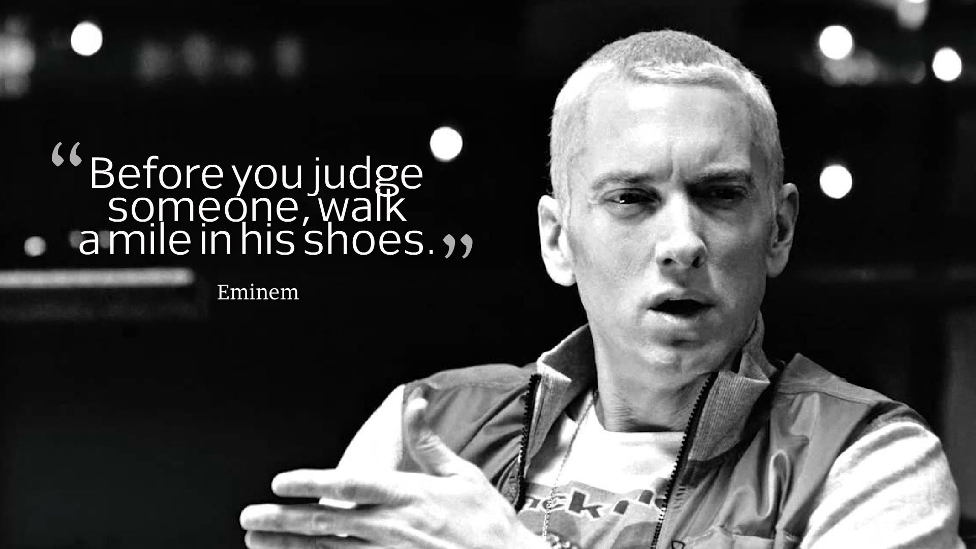 Eminem Quotes Wallpapers HD Backgrounds Images Pics Photos 1920x1080