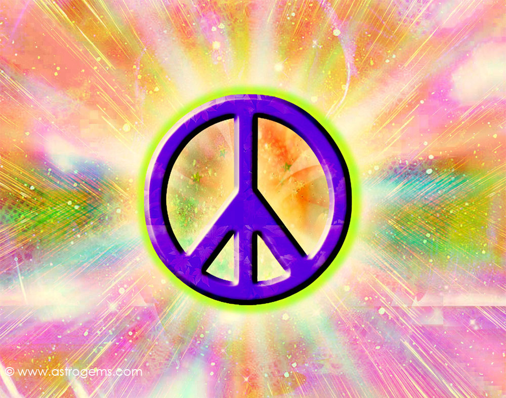 colorful peace sign backgrounds wallpapersafari. Black Bedroom Furniture Sets. Home Design Ideas