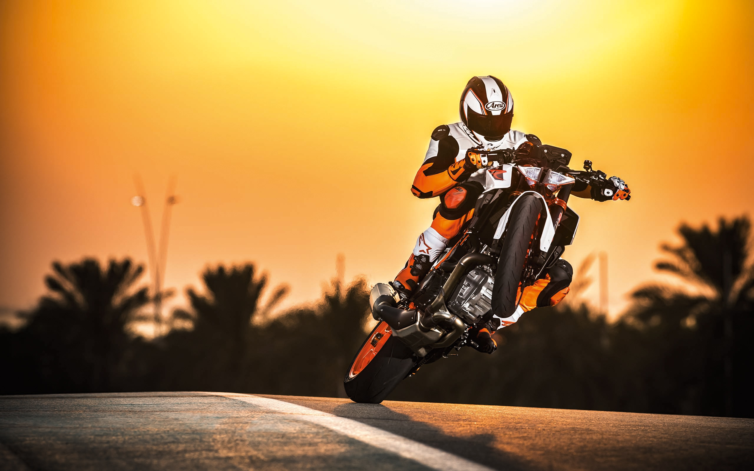 2017 KTM 1290 Super Duke R Stunt Wallpapers Wallpapers HD 2560x1600