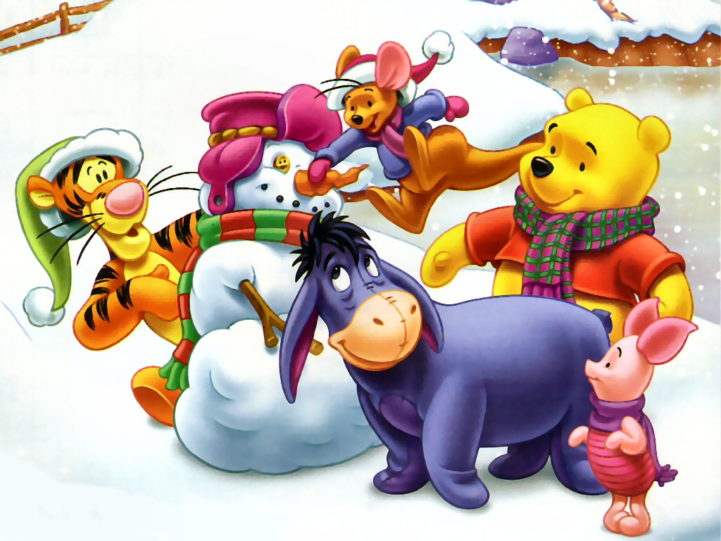QQ Wallpapers Disney Christmas Wallpapers Set 2 1024x768