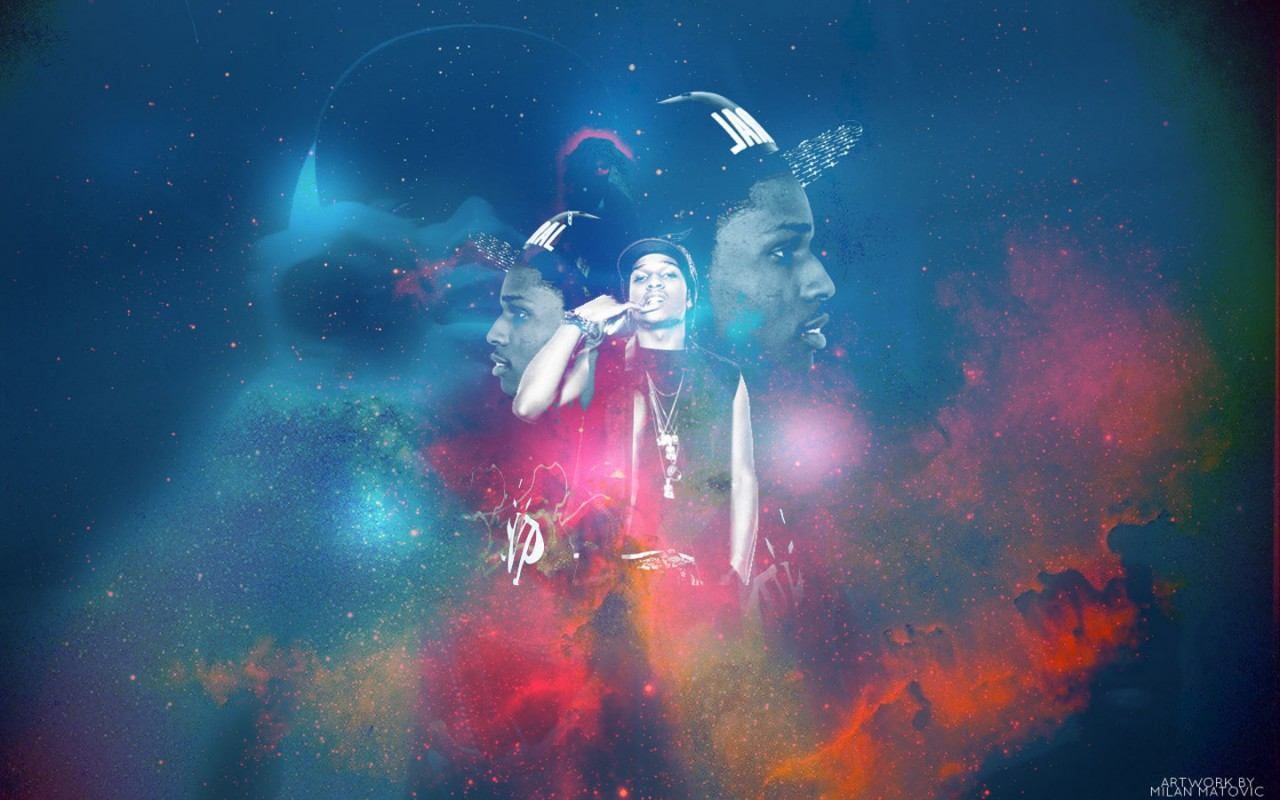 ASAP Rocky Outerspace Rap Wallpapers 1280x800