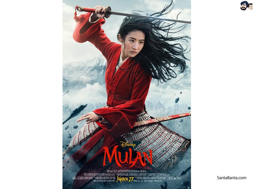 Mulan Movie Wallpaper 2 1024x768