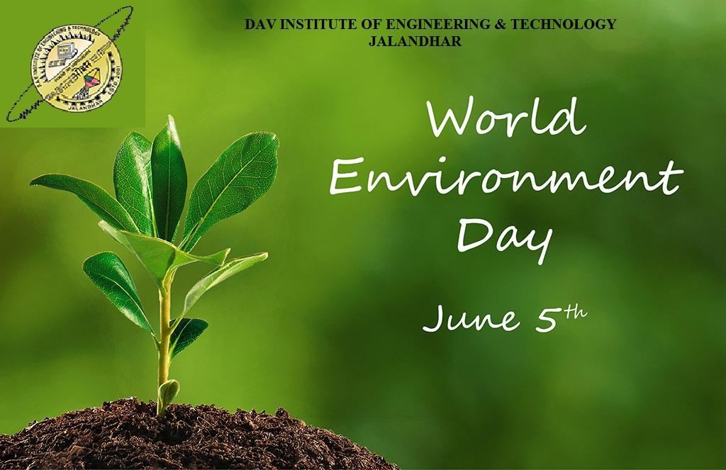 world environment day hd wallpaper   DAVIET College 1024x663
