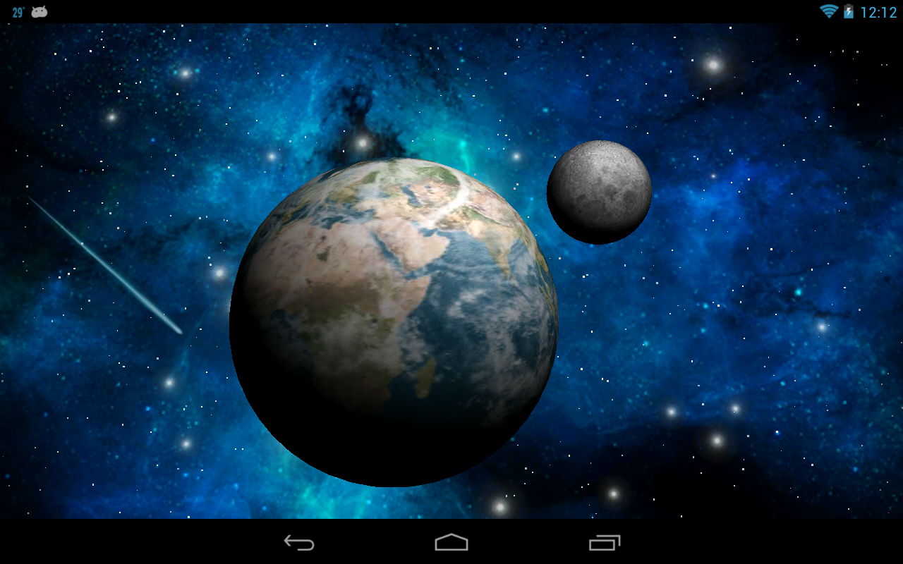 Free download 3D Space Live Wallpaper Android Apps on ...
