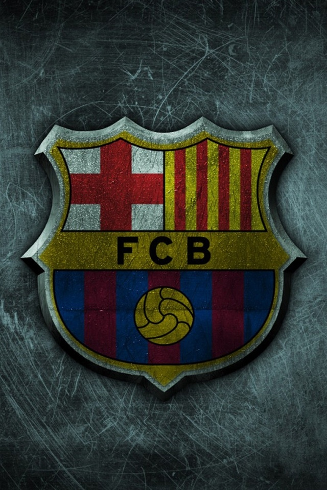 Futbol Club Barcelona iPhone 4 Wallpaper and iPhone 4S Wallpaper 640x960