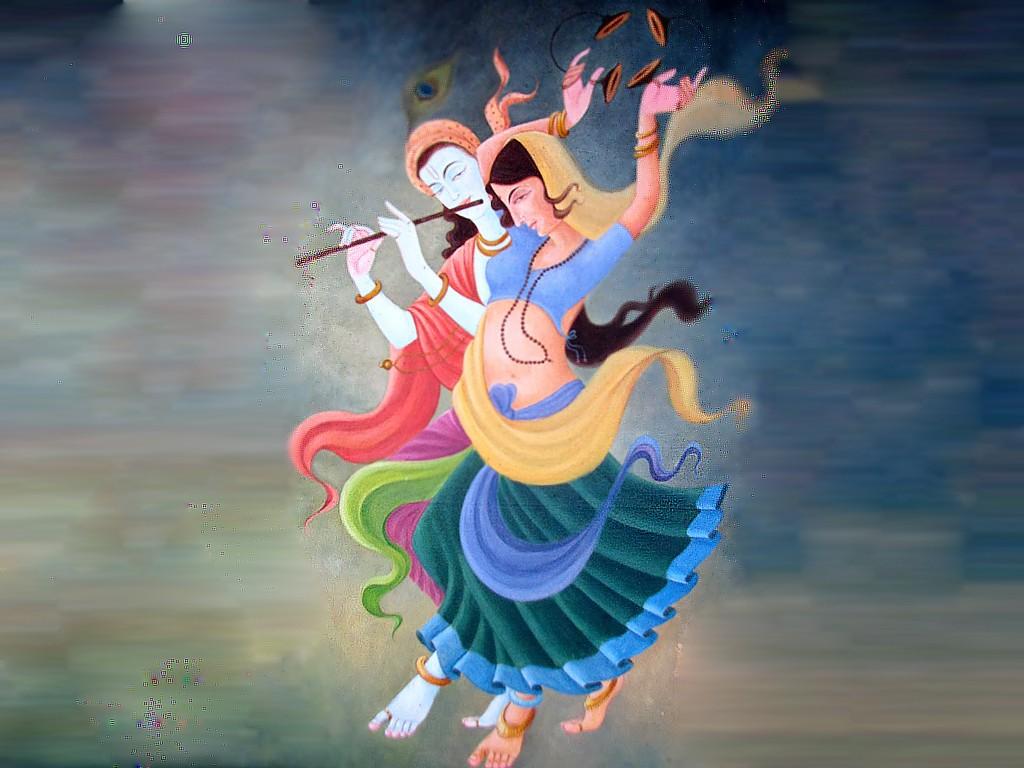 Radha Krishna Love New HD Wallpaper   New HD Wallpapers 1024x768