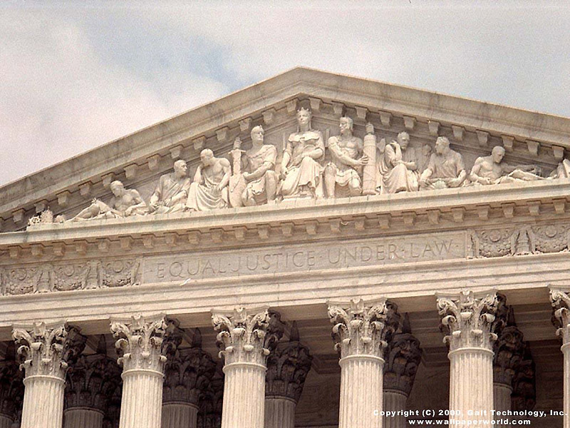 Visual Paradox   3D Wallpaper Supreme Court 800x600 800x600
