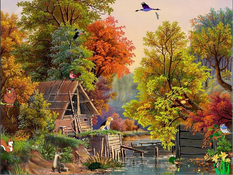 Free Screensavers Wallpaper Fall Scenes Wallpapersafari