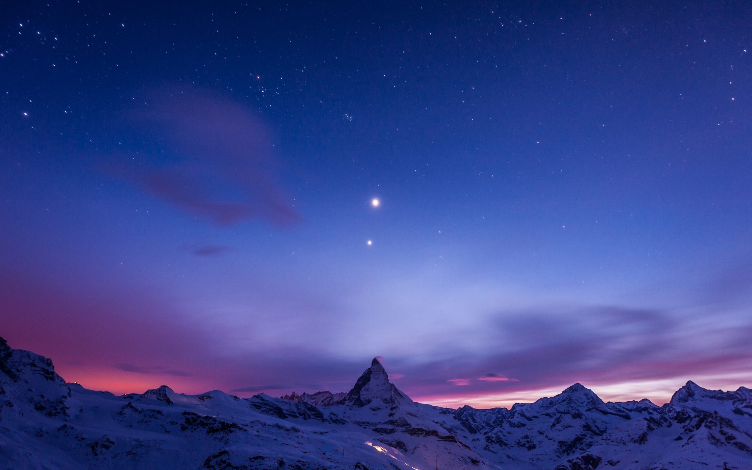 1366x768 mountain night stars - photo #43