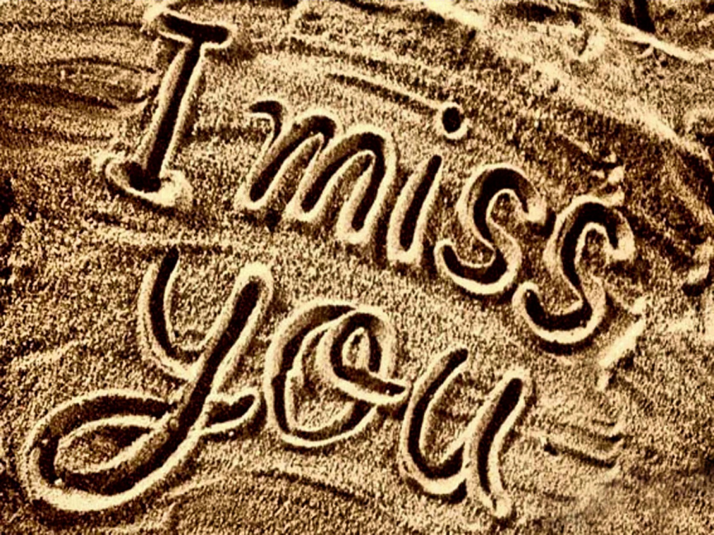 Fondos de I miss you Fondos de pantalla de I miss you   3D Fondos 1440x1080