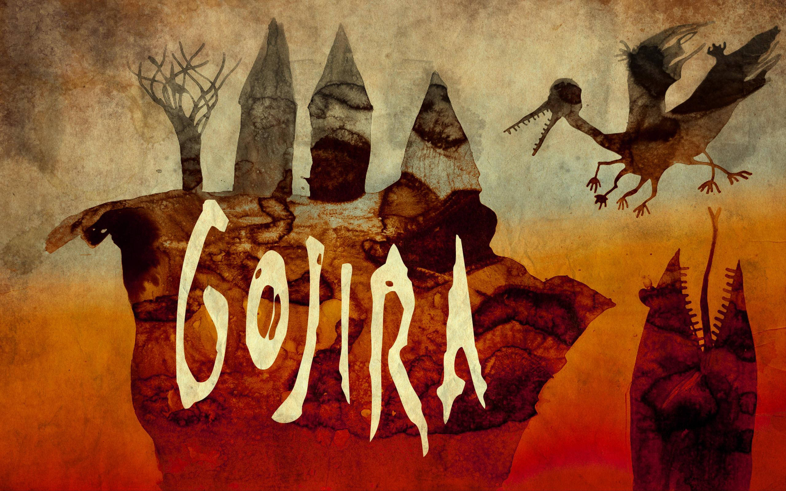 Gojira Computer Wallpapers Desktop Backgrounds 2560x1600