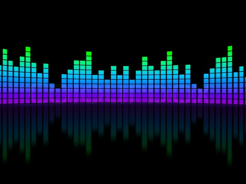 Music Equalizer Wallpaper: Music Bars Wallpaper