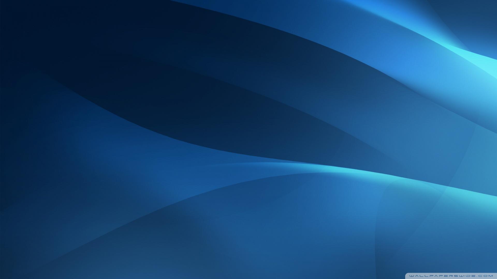 Hd Wallpaper 1920x1080 Black Blue: 1920X1080 Blue Wallpaper
