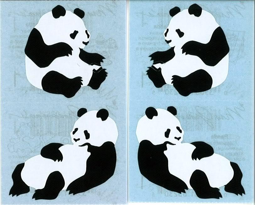 panda bear wallpaper border 812x651