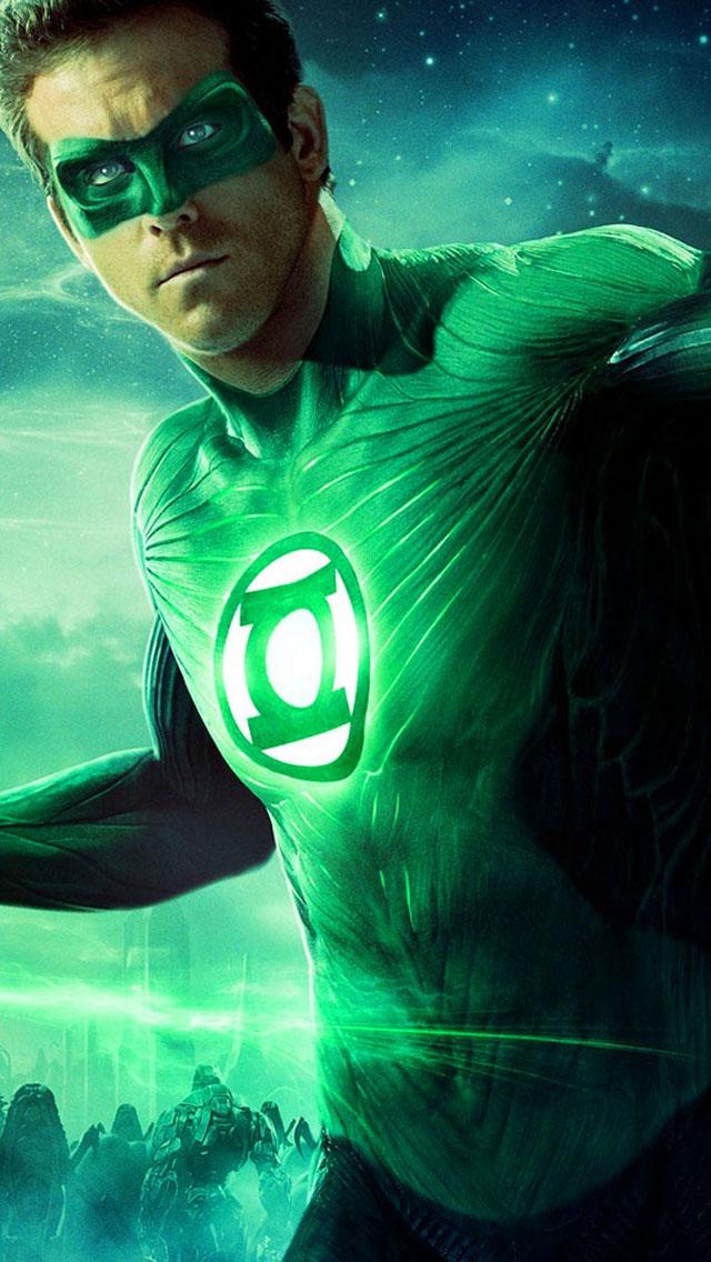 Green Lantern 2011 HD iPhone 5 iPhone Wallpapers HD 640x1136
