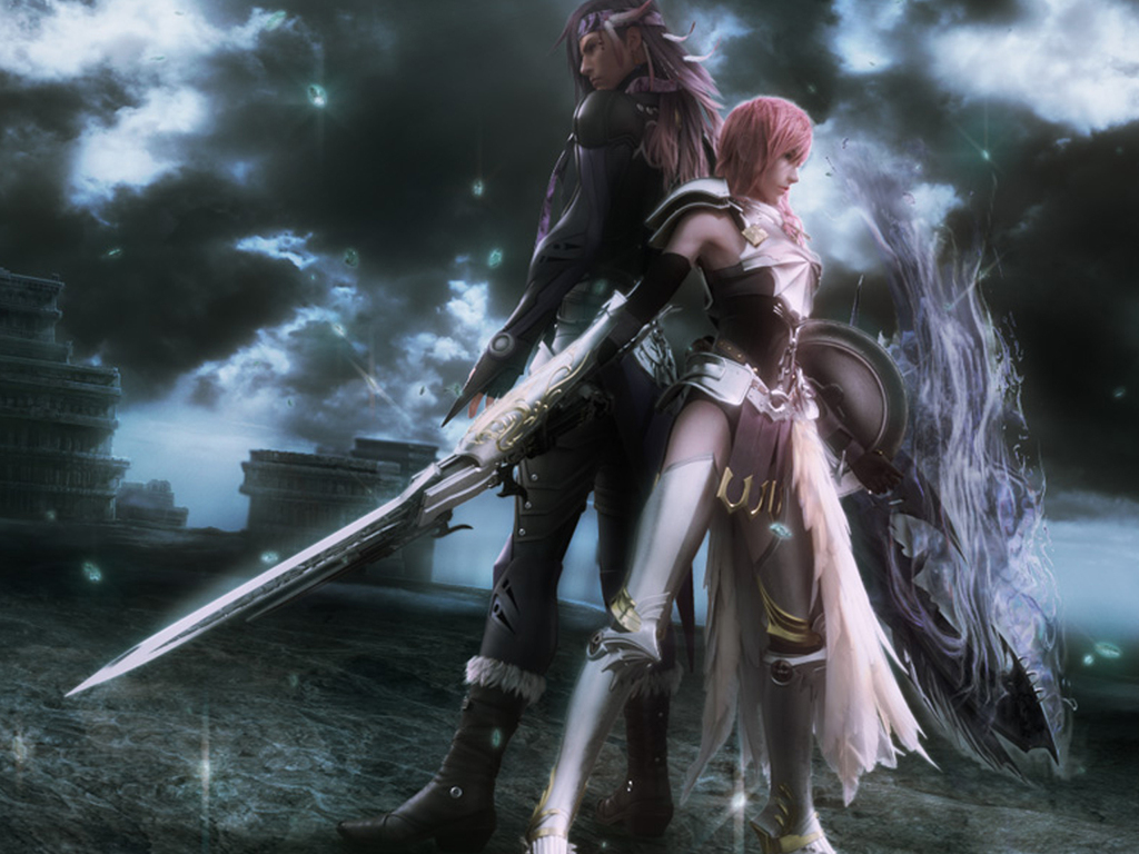 Final Fantasy wallpaper Lightning Wallpaper Final Fantasy hd 1024x768
