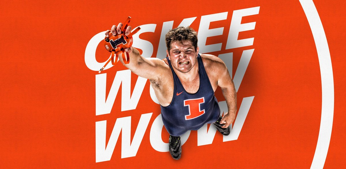 Illinois Wrestling on Twitter Posters wallpaper are here 1200x588