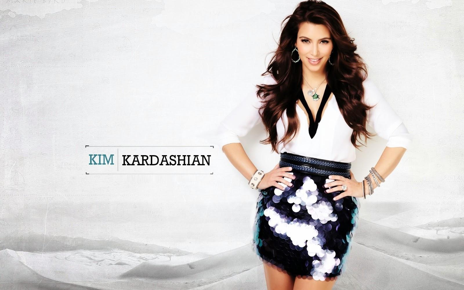 Amazing Kim Kardashian Wallpaper HD 1600x1000