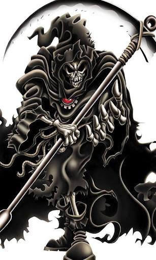 Go Back Gallery For No Fear Skull Wallpaper 307x512