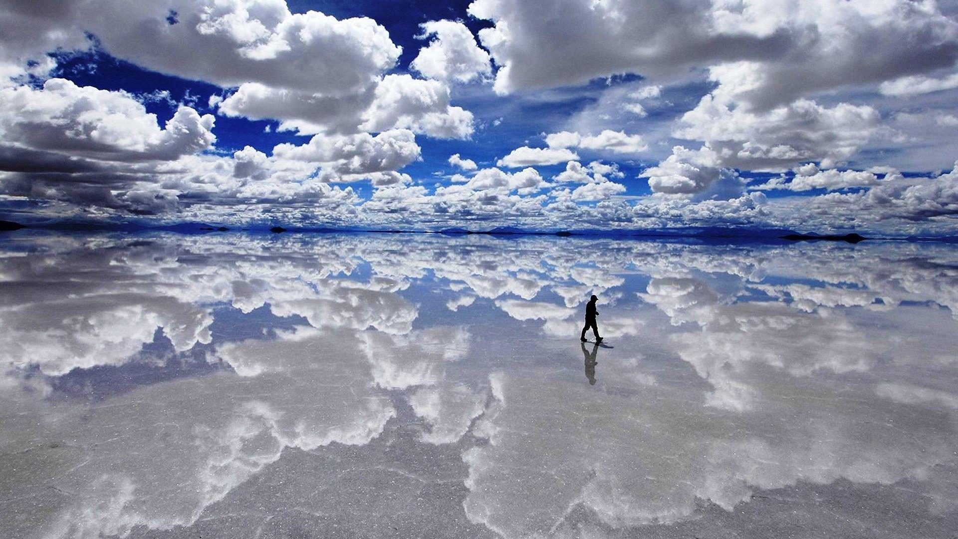 Salar De Uyuni Bolivia 1920X1080 wallpaper 1920x1080