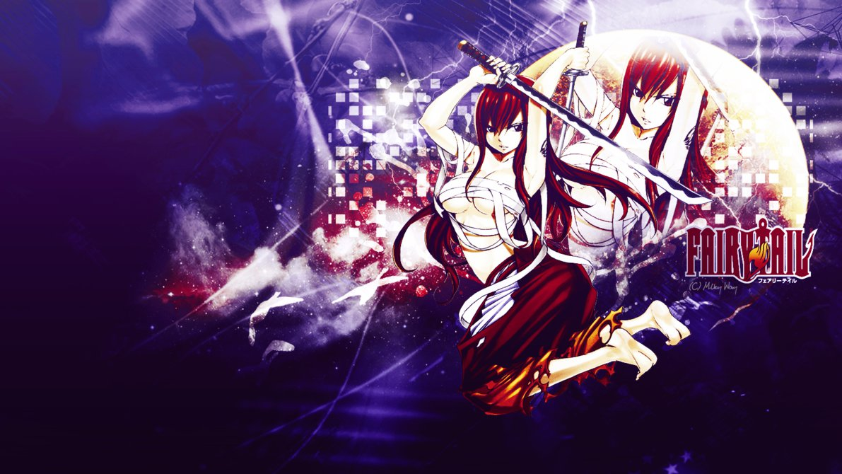 Fairy Tail Erza Wallpaper by Lunaris Pulvis 1191x670