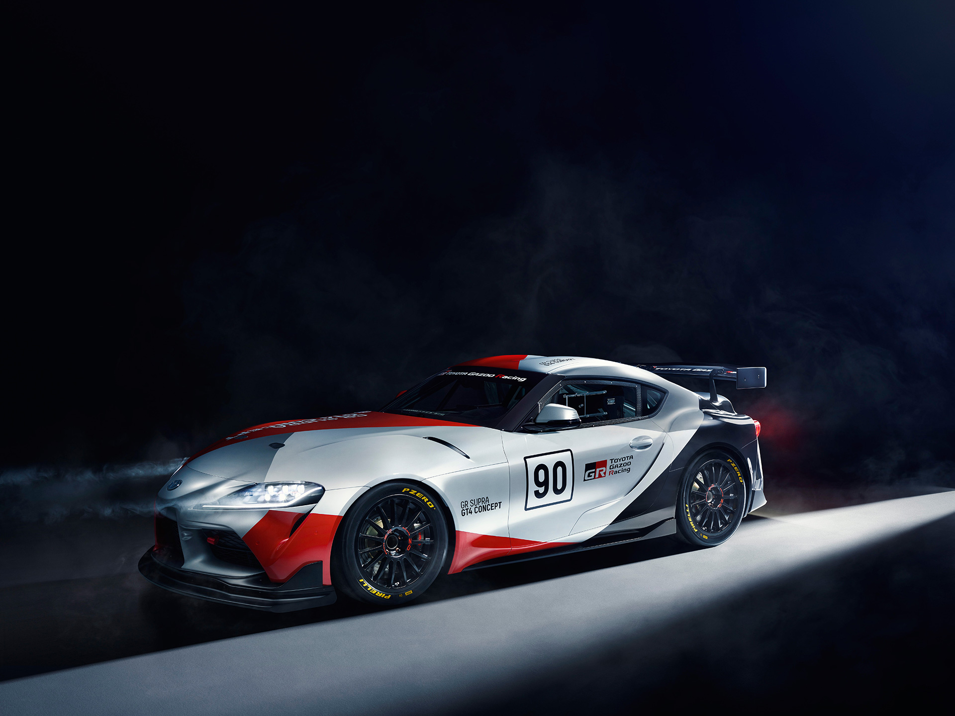 Toyota Presents World Debut of Toyota GR Supra GT4 Concept at 2019 1920x1440