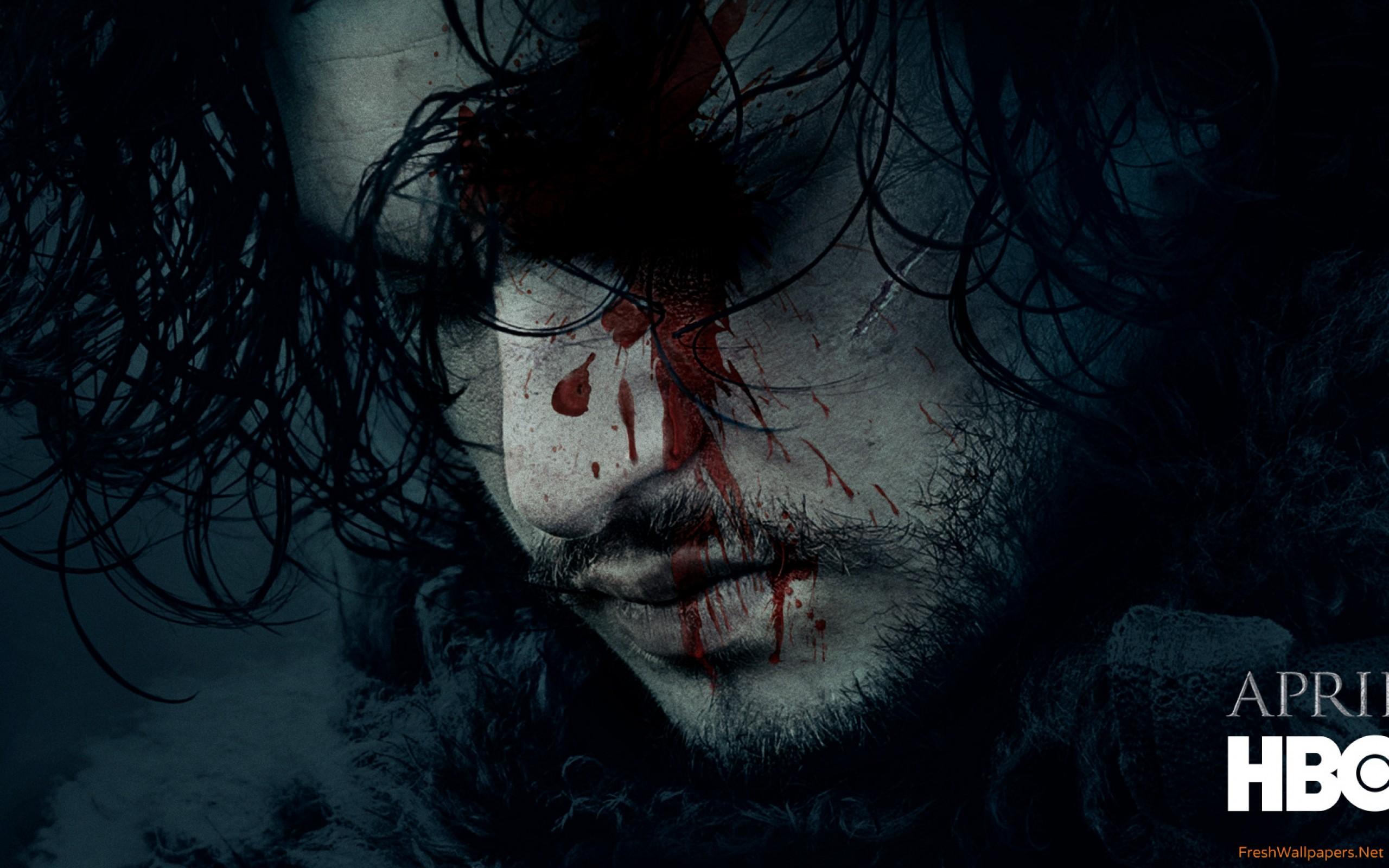 Jon Snow Season 6 Teaser Game Of Thrones wallpapers 2560x1600