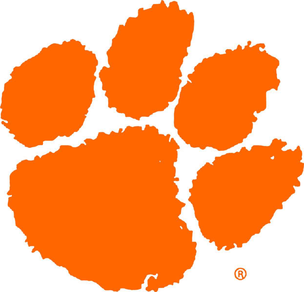 Clemson Tiger Paw Graphics Code Clemson Tiger Paw Comments 623x600