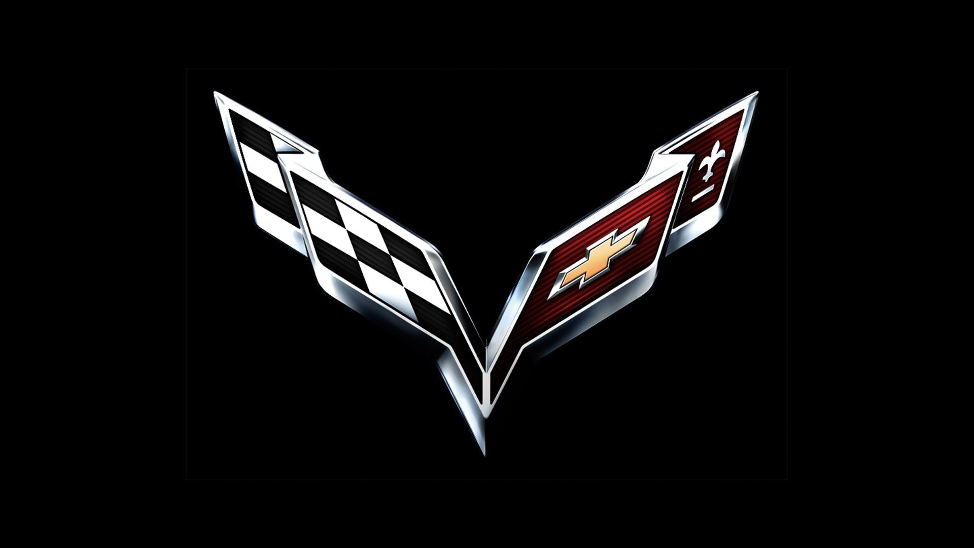Chevrolet Corvette C7 Logo Wallpaper PicsWallpapercom 1920x1080