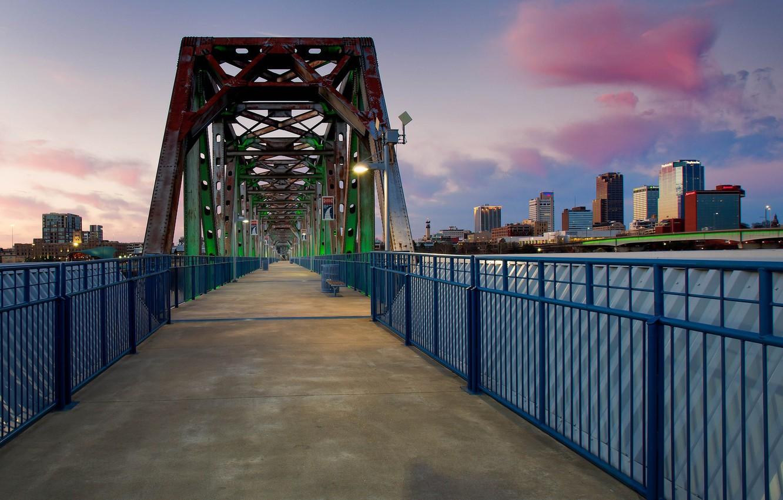 Wallpaper bridge USA Arkansas Little Rock Arkansas images for 1332x850