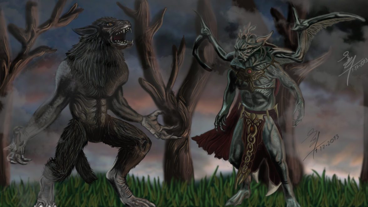1176x664px Vampire Vs Werewolf Wallpaper Wallpapersafari