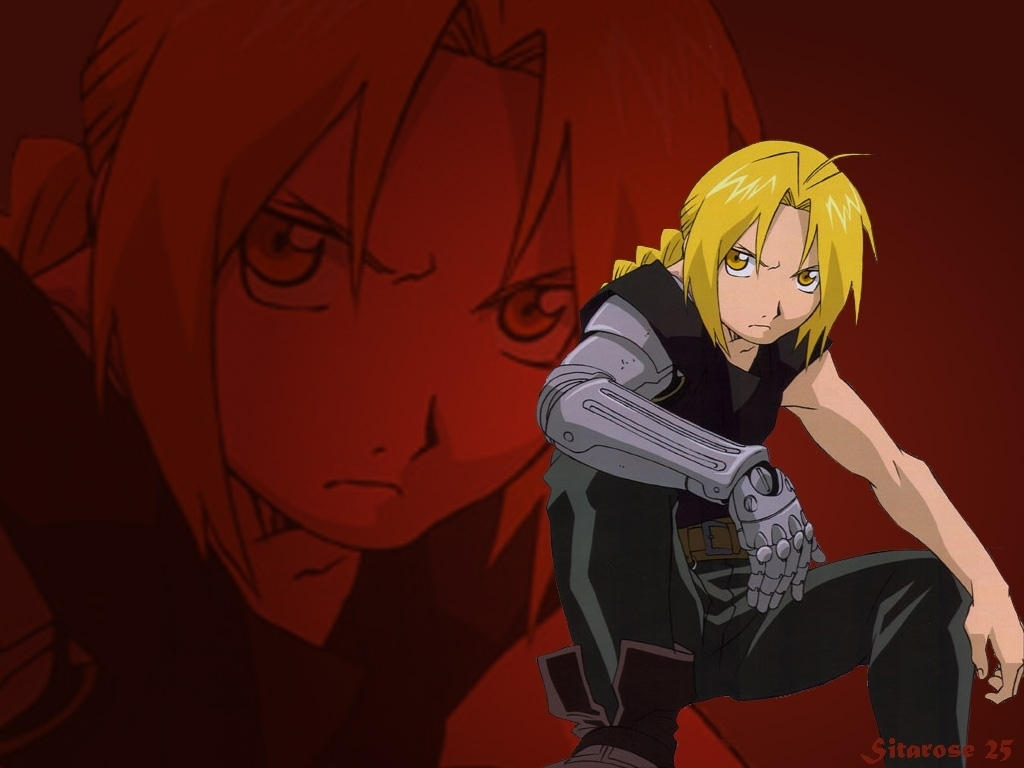 ed   Edward Elric Wallpaper 11382084 1024x768