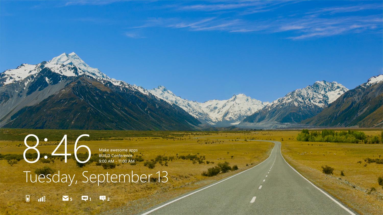 Windows 8 Lock Screen Apps Download