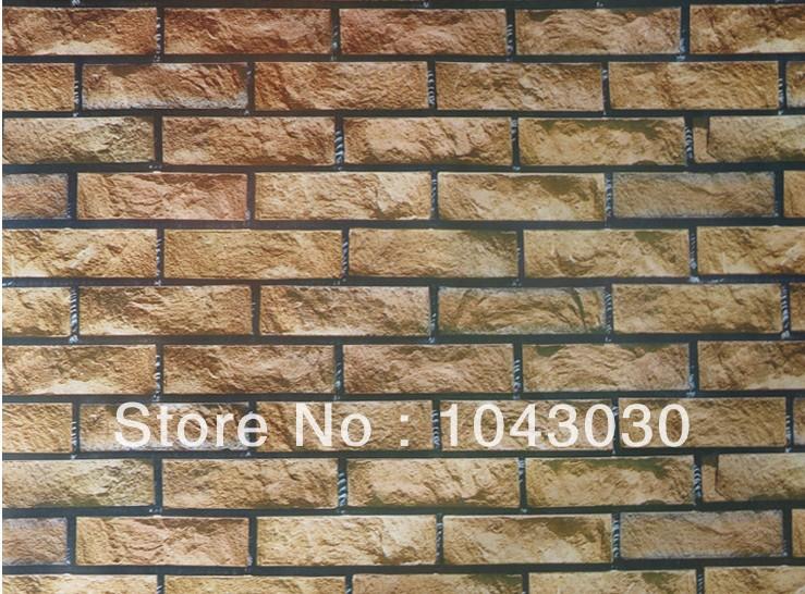 Modern Creative Wall Stickers Brick Design DIY Removable Wallpaper 739x546
