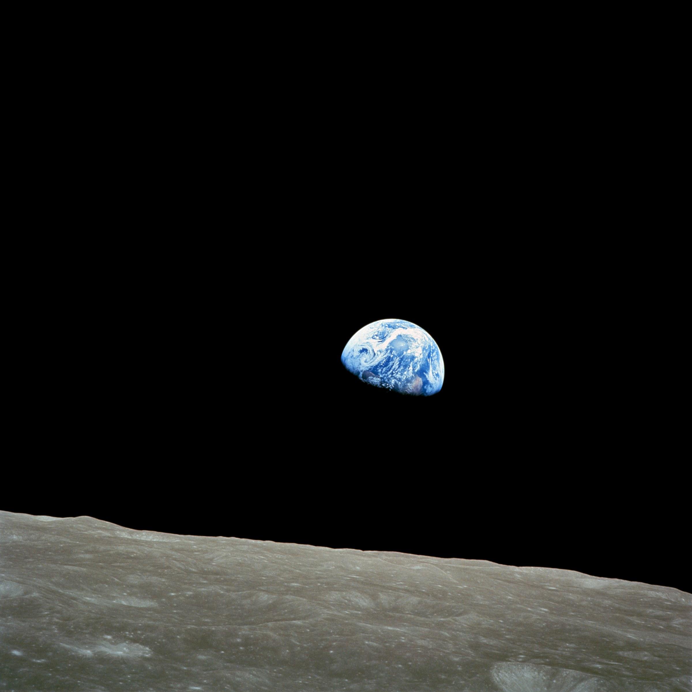 FileNASA Apollo8 Dec24 Earthrisejpg   Wikipedia the 2400x2400