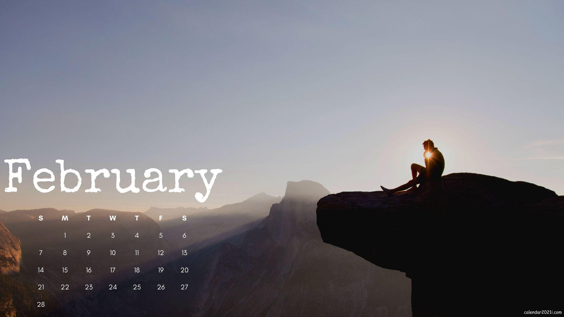 February 2021 Calendar Wallpapers Download Calendar 2021