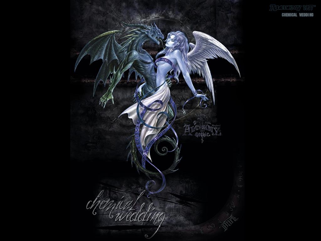 Dark Angel Wallpaper 1024x768 Dark, Angel