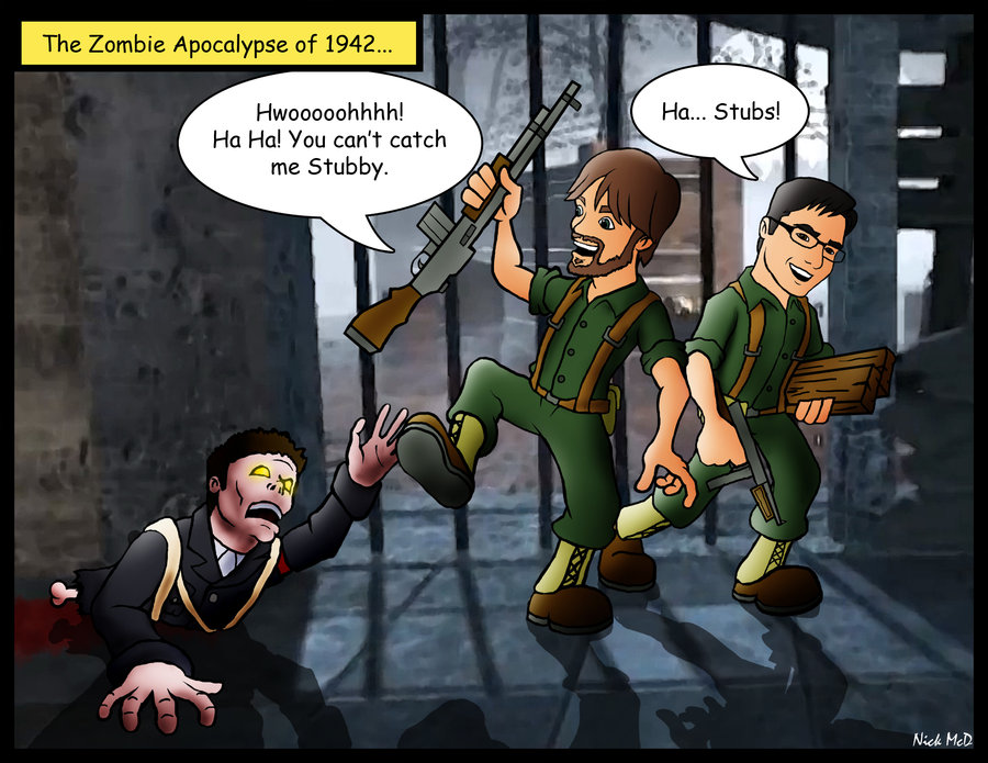 Call Of Duty Zombies By Nick McDjpg 900x695