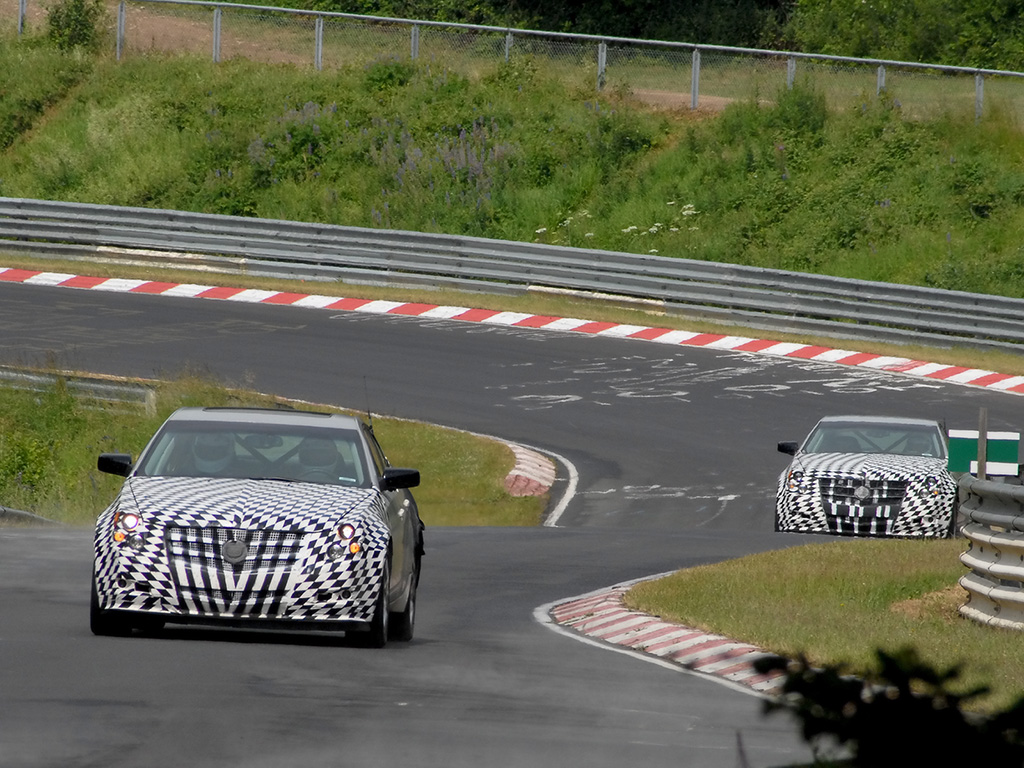 2008 Cadillac CTS   Racing   1024x768   Wallpaper 1024x768