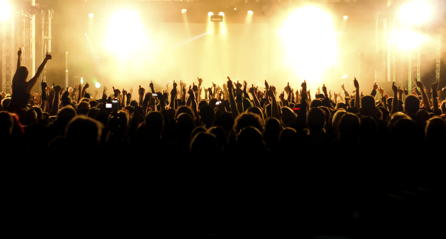 Concert Stage Wallpaper Concert Crowd From Stage 1893x1014