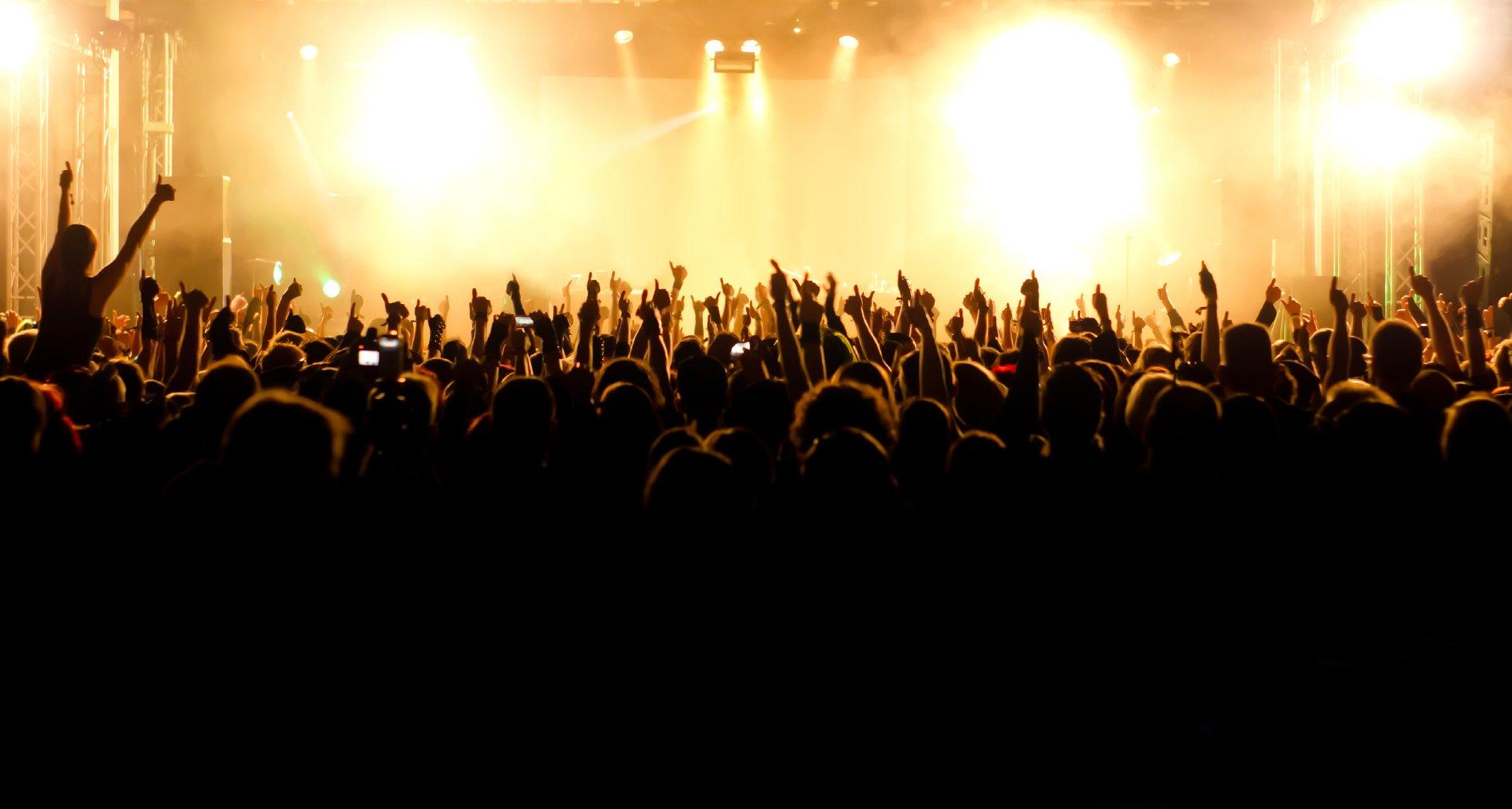 Concert stage wallpaper