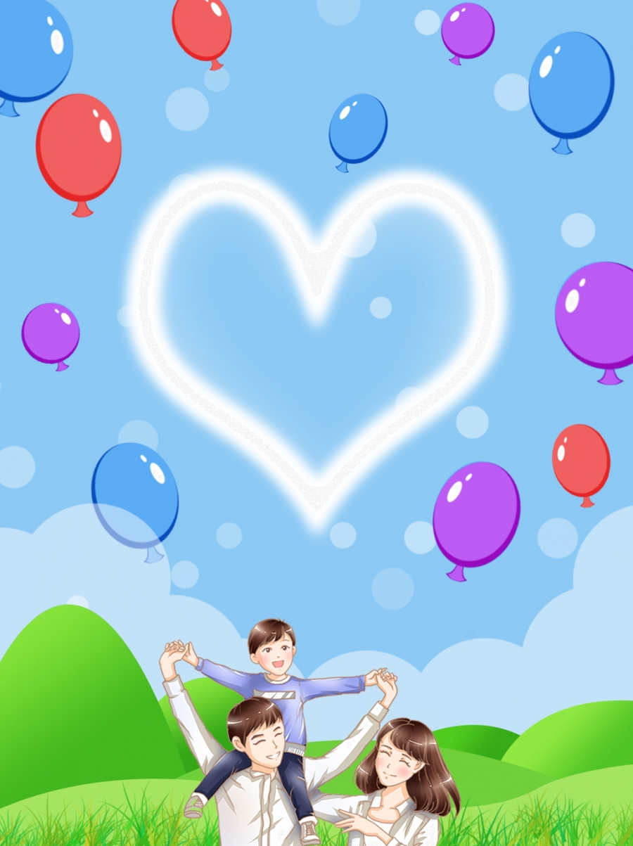 Family Background Of Parents And Children Background Character 900x1203