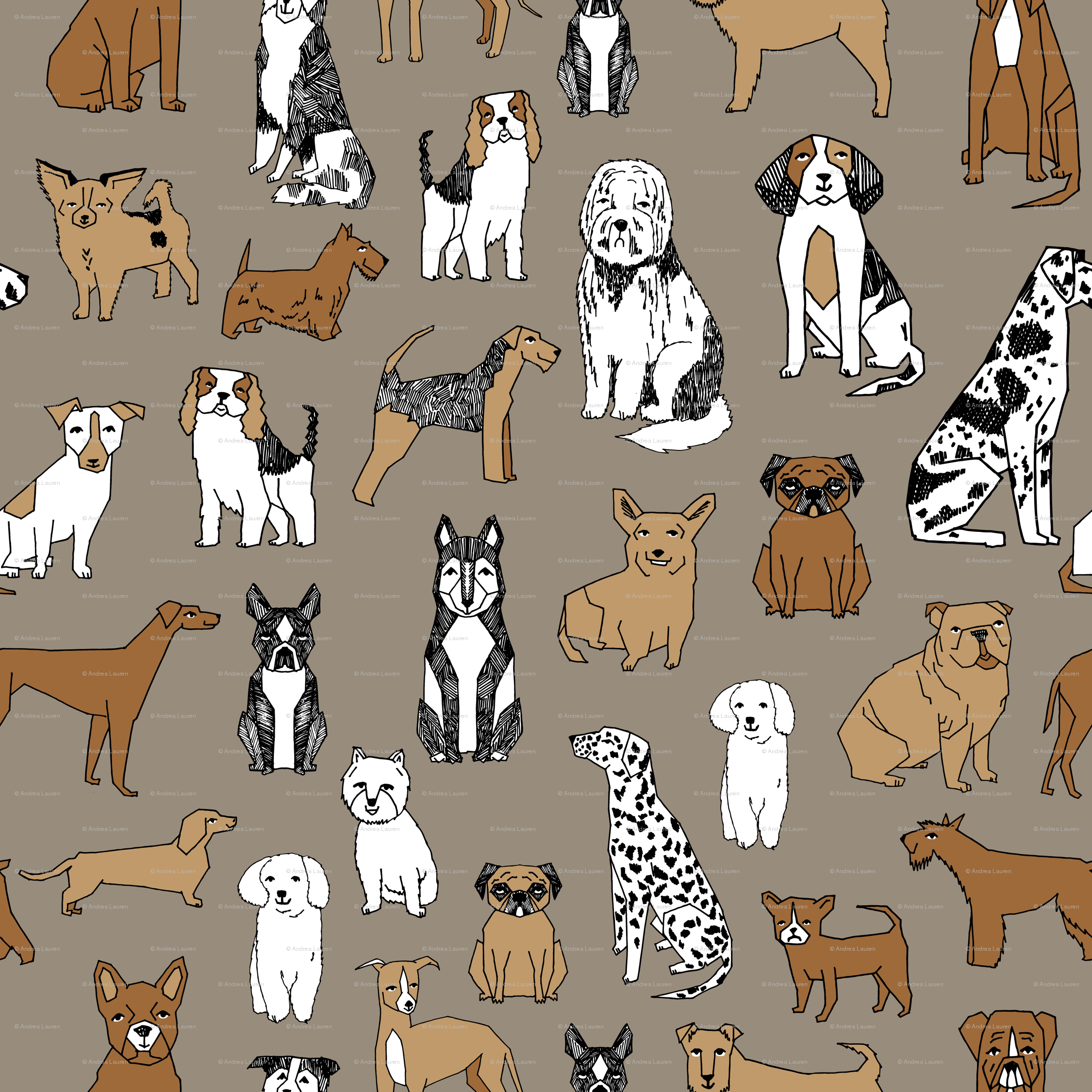 38 Wallpaper With Dogs Printed On It On Wallpapersafari