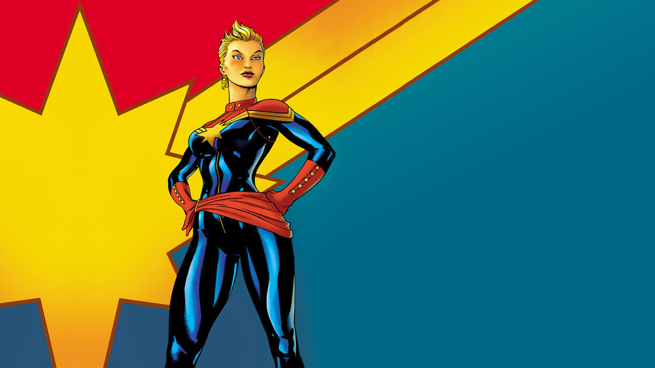 Captain Marvel Its About Time 1280x720