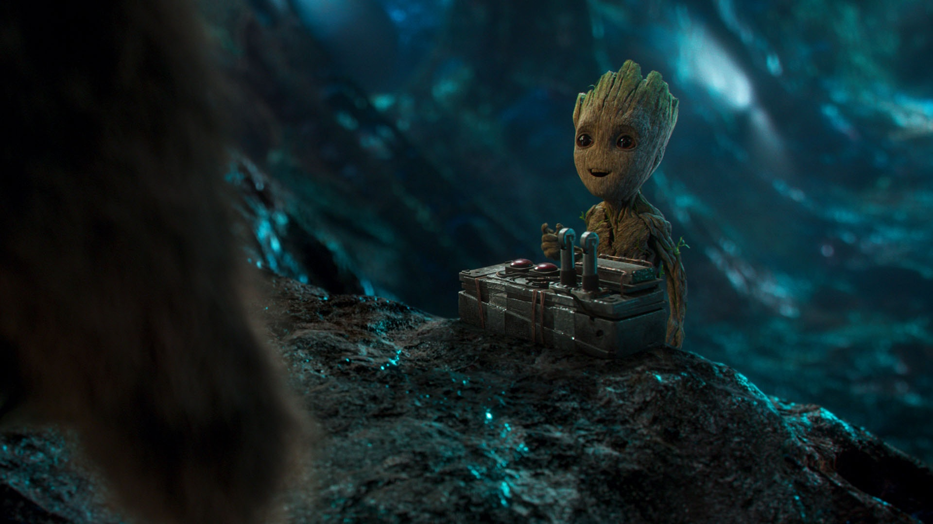 Guardians Of The Galaxy Vol 2 Baby Groot wallpaper 1920x1080