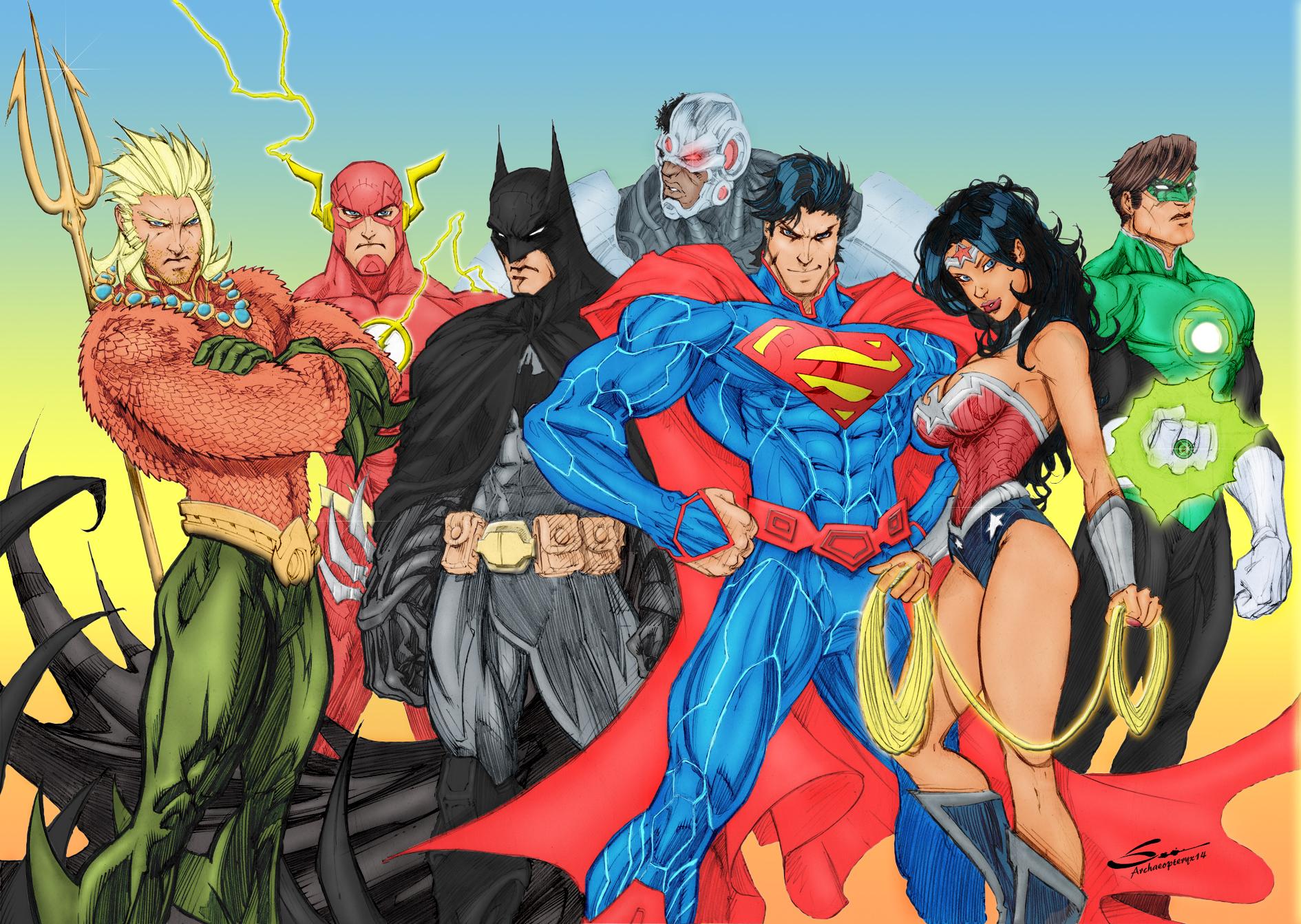 Justice League by J Skipper 1890x1343