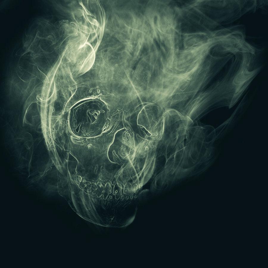 Smoke skull by Mikey1995 900x900