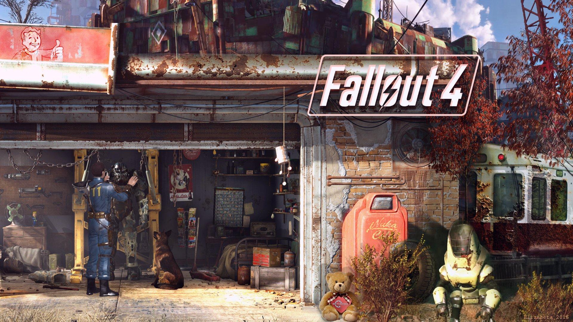 fallout 4 wallpaper by betka watch fan art wallpaper games 2015 2016 1920x1080