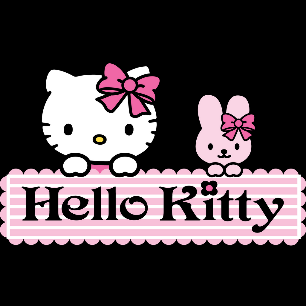 Hello Kitty Wallpaper for iPad 1024x1024